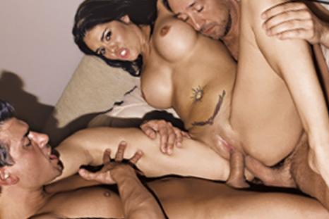 Olivia O´Lovely babando porra na boca depois do sexo hard