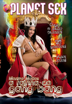 Monica Mattos, a Rainha do Gang Bang